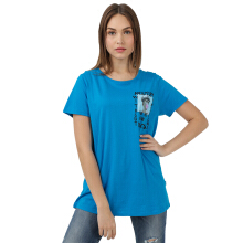 MOUTLEY Ladies Tshirt 1912 [M19121722 ] - Blue