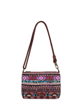 Sakroots Campus Mini Sling Bag Orchid One World