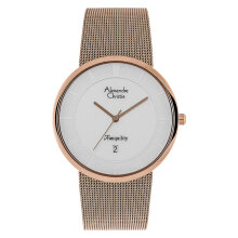 Alexandre Christie AC 8334 MD BRGSL Men White Dial Rose Gold Stainless Steel  [ACF-8334-MDBRGSL]