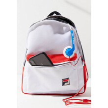 FILA Peacoat Mini Backpack White Blue