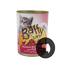 Baffy Cat 415 Gr Kitten Junior Chicken