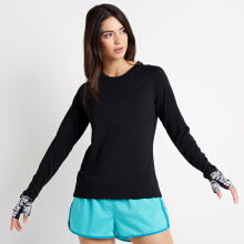 CoreNation Active Privee Long Sleeve - Hitam