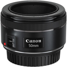 Canon EF 50mm f/1.8 STM Black