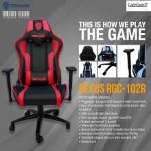 Rexus Kursi Komputer Pc Gaming Chair Rgc 102 Kursi Gaming