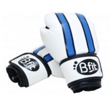 Bfit Boxing Glove 3086 White-Blue Blue