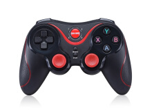 Aosen GEN GAME S5 Wireless Bluetooth Gamepad Game Controller Support for IOS Android PC with Bracket and reciver Black