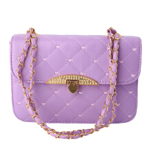 [LESHP]New Fashion Leather Shoulder Bag Satchel Handbag Tote Purse Hobo Messenger Light Purple