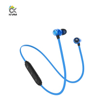 KYM X5 Sport Bluetooth Wireless Earphone In-Ear Type mini Magnet suction Metal Earphone For Android IOS Smartphone