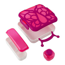 BOON Butterfly Bentobox - Magenta