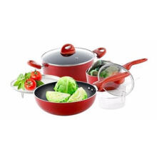 VICENZA Cookware Set Alat Masak 7 Pcs V817