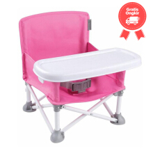 Summer Pop n' Sit Portable Booster Pink 13543