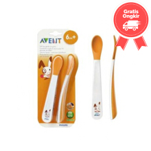 Avent Toddler Weaning Spoon Size 2pcs Color White Age 6M+