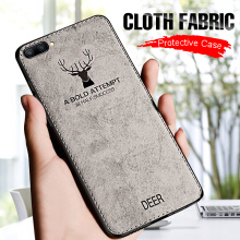 DELIVE Luxury Cloth Case For iphone X 6 7 8 Plus 6 6s Plus Full Case Silicone Edge Back Cover For iphone X 7 8 Plus