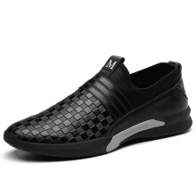 Jantens Fashion Men Sneakers Shoes Wear Comfortable Male Walking Genuine Leather Shoes