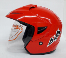 AVA Cruiser Helm Half Face - Red L Red L