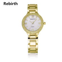 Jam Tangan Rebirth Wanita Fashion Luxury Stainless Steel Band Bisnis Design