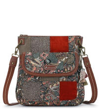 SAKROOTS Flap Crossbody Bag Sienna Spirit Desert Multicolor