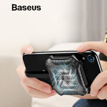 Baseus 3 in 1 Handphone Heat Sink For iPhone X Xs Max XR 8 7 6 Plus Game Cooler Audio Radiator with Aux Charging Cable Adapter