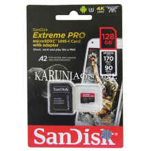 Microsdxc Sandisk Extreme Pro 128Gb A2 Up To 170Mb/S