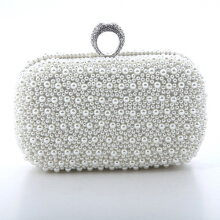 Farfi Luxury Faux Pearl Dinner Party Handbag