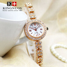KINGNUO Women's Fashion quartz watch Ladies Luxury Brand Famous Wristwatch