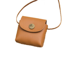 Wei's Girl Round Button Girl Shoulder Messenger Bag B-TIMI222