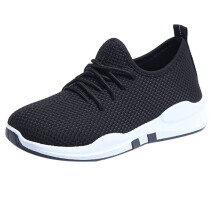BESSKY Women Running Trainers Lace Up Flat Comfy Fitness Gym Sports Shoes Casual Shoes_