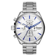 Diesel DZ4473 Ms9 Chronograph Men White Dial Stainless Steel [DZ4473]