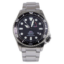 Orient Triton Divers Mechanical Sports RA-EL0001B Men Black Dial Stainless Steel [RA-EL0001B]