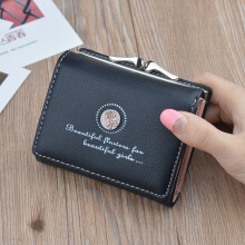 Jantens    Women Leather Phone Wallets Female Short Zipper Coin Purses Money Credit Card Holders Clutch Bags