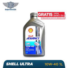 SHELL Oli Motor Advance 4T Ultra - 10W - 40 SNMA2 - 1 liter