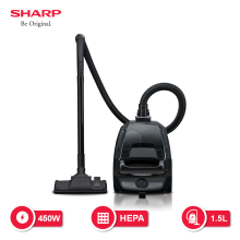 SHARP Vacuum Cleaner EC-NS18-BK