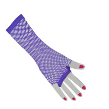 SiYing Korean Grid hollow sunscreen gloves ladies drive bike non-slip gloves