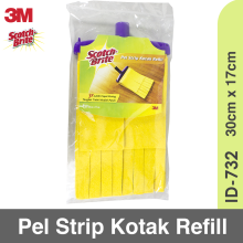 3M Scotch-Brite Pel Kotak Kuning Refill ID-732 Yellow
