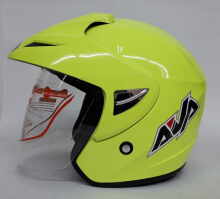 AVA Cruiser Helm Half Face - Neo Green L Light Yellow L