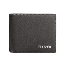 [LESHP]PLOVER GD5885-6BX Business Wallet Soft Durable Cow Leather Man Short Brown Brown
