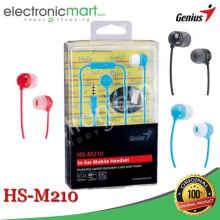 AyoBelanja - Earphone Genius HS-M210 - Deep Pink
