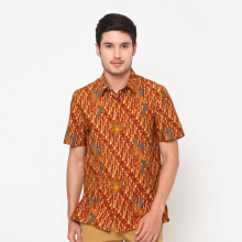 Asana Indawi Short Sleeves Slim Fit - RED