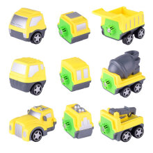 COZIME Children Magnetic Building Toy Engineering Truck Intelligence Development Toy Yellow&Gray