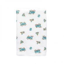 Little Palmerhaus Tottori Baby Towel - Choo Choo Train