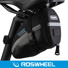 Shengmeiid Roswheel Outdoor Cycling Bike Saddle Bag Seat Tail Pouch Black