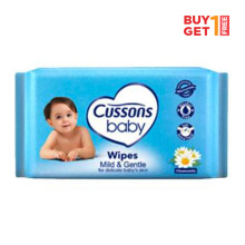 CUSSONS BABY Wipes Mild & Gentle 10'S - buy 1 get 1