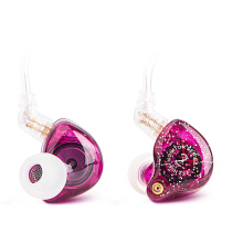 TFZ Series 2 HiFi In Ear Monitor Earphone with Detachable Cable - Purple
