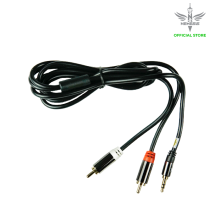 NYK Stereo Audio Cable 3.5Mm To 2Rca