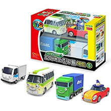 Tayo The Little Bus 4 Style Mini Cars Set 5 Original - Iconix