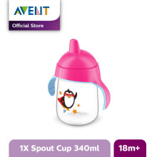 AVENT SCF755/00 Premium Spout Cup 12oz Single - Pink