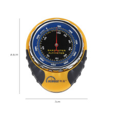 Multi-function Portable Altimeter Barometer for Outdoor Sports  - Yellow and Black