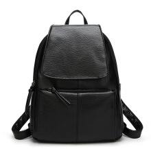 SiYing Korean version of the wild female bag college wind ladies bag Black