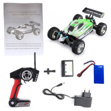 [kingstore] WLtoys A959-B 2.4G 1/18 Scale 4WD 70KM/h Electric RC Car RTR Off-road Buggy Green