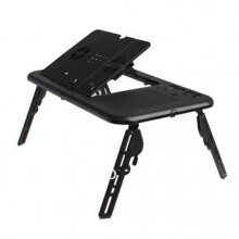 Universal E-Table Meja Laptop Portable - Hitam